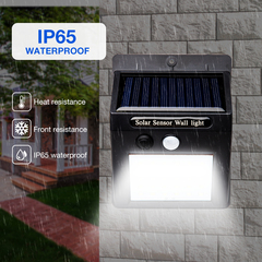 30/48 LED Solar Light Human Infrared PIR Motion Sensor Wall Lamp Security Outdoor Garden Lighting 30LED 0.55W
