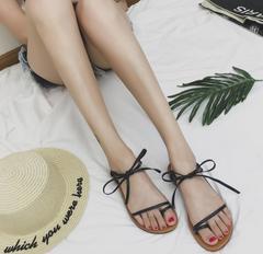 M&J Women Sandals Fashion Summer Shoes Women Casual Sandals Summer Beach Shoes Ladies Sandals black 35