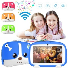Kids Tablet PC 7'' WIFI Android 5.1 Quad Core 8G+32GB Storage Children Education Games Birthday Gift blue