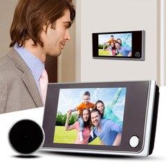 3.5 Inch LCD Color Screen Digital Doorbell 120 Degree Door Eye Electronic Door Camera Viewer as picture 3.5inch