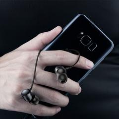 Baseus Bass Sound Earphone In-Ear Sport Earphones With Mic For Xiaomi iPhone Samsung Headset MP3 black