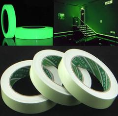 3M*15mm Luminous Tape Self-adhesive Glow In The Dark Safety Stage Home Decorations Warning Tapes as picture 3m*15mm
