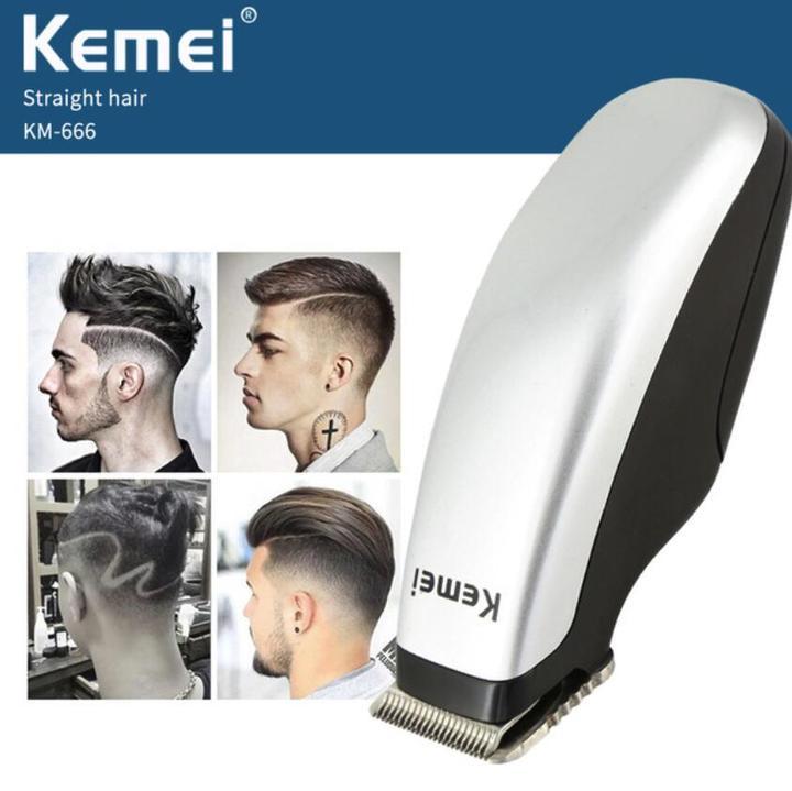 Newly Electric Hair Clipper Mini Hair Trimmer Cutting Machine Beard Barber Razor Men Style Tools silver normal