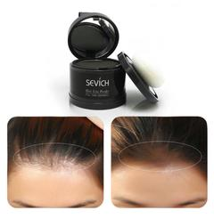 Waterproof Hair Line Powder In Hair Color Edge Control Hair Line Shadow Makeup Hair Concealer black
