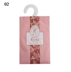 Natural Smell Incense Wardrobe Sachet Air Fresh Scent Bag Perfume Sachet Bag Wardrobe Supplies rose 18*11.5cm