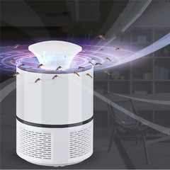 Mosquito Killer USB Electric Mosquito Killer Lamp Photocatalysis Home LED Bug Zapper Insect trap white 19*12*8.5cm