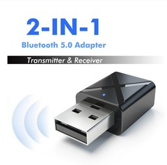Bluetooth 5.0 Audio Receiver Transmitter Mini AUX Transmitter For TV PC Wireless Adapter For Car