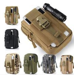 Men's Outdoor Camping Bags Tactical Backpacks Pouch Belt Bag Waist Packs Sport Running Travel Bags