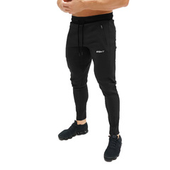 Fitness Gyms Men Pants Full Length Pants Sweatpants Fashion Trousers Casual Workout Jogger Pants black m