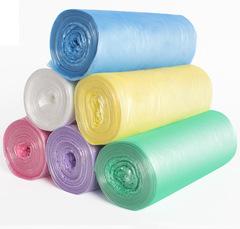 6 Rolls Garbage Bags Thicken Environmental Cleaning Waste Bag Plastic Trash Bags 120pcs 45*45cm