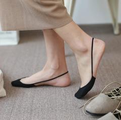 Soft Cotton Slippers High Heels Socks Fashion Women Breathable Boat Socks Short Invisible Socks 1 pair free size