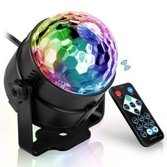 Led Disco Light Stage Lights DJ  Ball Lumiere Sound Activated Laser Projector Lamp Light Music Party multi color