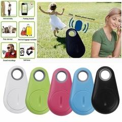 Hot Mini Bluetooth Tracker GPS Locator Tag Alarm Wallet Key Pet Dog Tracker Anti-lost Smart Tracker blue 52*31mm