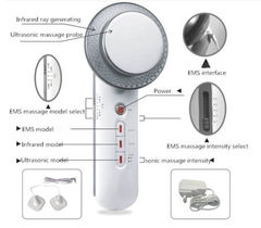 Ultrasound Cavitation EMS Body Slimming Massager Weight Loss Fat Burner Infrared Ultrasonic Therapy as picture