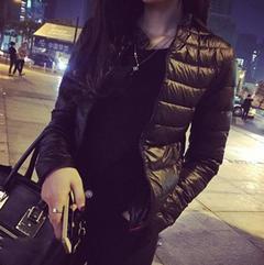 Plus Size Winter Women Jacket Short Down Outwear Female Winter Coat Cotton Padded Warm Jackets Coats black s