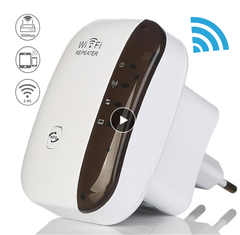 Wireless WiFi Repeater Wifi Extender 300Mbps WiFi Amplifier WiFi Booster Long Range Wi-fi Repeater white