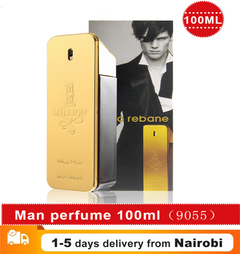 Men 100ml Body Spray Glass Bottle Perfume Men Perfumes Long Lasting Fragrances Gold Million Bottle gold