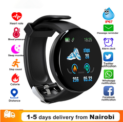 New Arrival Waterproof Bluetooth Bracelet Smart Watch Heart Rate Blood Pressure Activity Trackers black one size
