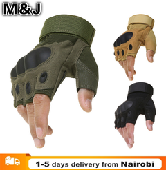 Outdoor Motorcycle Hard Knuckle Gloves Motorbike Motocross Military Tactical Cycling Gloves army green xl