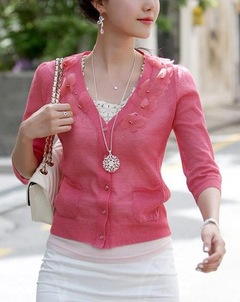 Floriane New Bohemian Jewellery Howlow Pattern Pendant Necklace Sweater Chain One Color silivery normal size