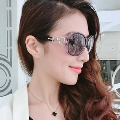Floriane Woman New Fashion Elegant Polarized Sunglasses One Color white one size