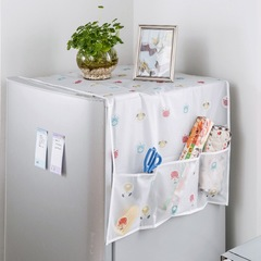 Floriane New Refrigerator Dustproof Organize Multi-Function Four-Leaf Cover Hanging Bag H038 four-leaf clover