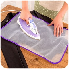 Floriane New High temperature Ironing Heat Insulation Cloth Steam Thick Mesh Mat H039 purple 40*60cm