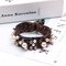 Floriane New Woman Temperament Leopard Print Hair Thick Rope Fashion Tow Color Rubber Band I053 1# 2.5cm*6.5cm