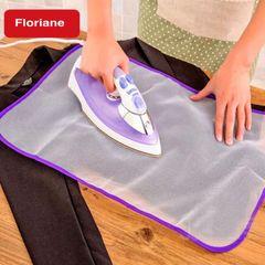 Floriane Home High temperature Ironing Heat Insulation Cloth Steam Thick Mesh Mat H039 purple 40*60cm