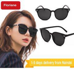 Floriane Polarized Sunglasses Women Men Classic Driver Sunglasses Sun Glasses black