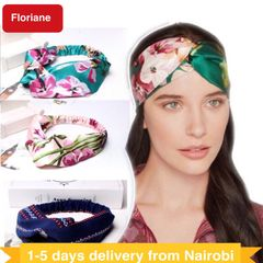 Floriane New Fashion Debutante High-Grade Cross Hair Band Beauty Makeup Gift Four Style I049 3# one size
