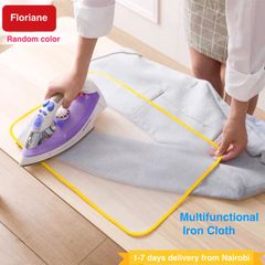 Floriane Home High temperature Ironing Heat Insulation Cloth Steam Thick Mesh Mat Home Living purple 40*60cm
