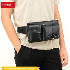 Floriane Men Bags Fanny packs Handbags Bagpacks Waist Chest Bags Multifunctional Outdoor Sports Bag black
