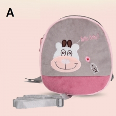 Children's cartoon anti-lost bag with traction rope mini backpack A 23*22*7