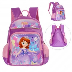 Children's school bag student girls and boys Marvel Sophia Mickey cartoon backpack kids schoolbag B 29*15*38cm
