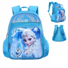 Children's school bag student girls and boys Marvel Sophia Mickey cartoon backpack kids schoolbag C 29*15*38cm