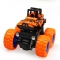 Inertia four-wheel drive off-road vehicle boy model car kids toys 2-3-4-5 years old baby car orange 9*8.5*7.5cm