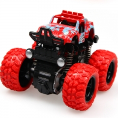 Inertia four-wheel drive off-road vehicle boy model car kids toys 2-3-4-5 years old baby car red 9*8.5*7.5cm