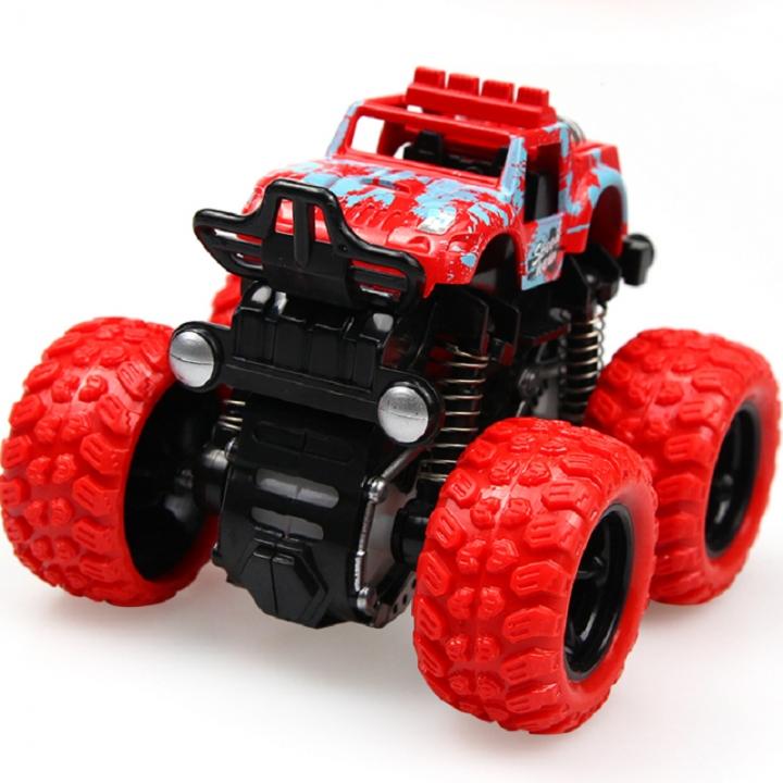 Inertia Four Wheel Drive Off Road Vehicle Boy Model Car Kids Toys 2