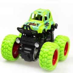 Inertia four-wheel drive off-road vehicle boy model car kids toys 2-3-4-5 years old baby car green 9*8.5*7.5cm
