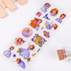 Children's  sticker Car Princess Sophia random gift kids toys random 7*17cm