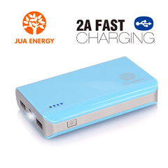 JPC201 6600mAh Power Bank Power Mate Mobile Power Portable Charger Battery Blue