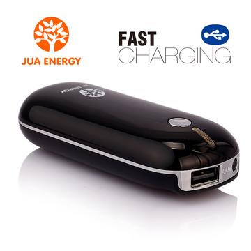 JPC101 4400mAh Mini Power Bank Powe Mate Mobile Power-portable charger battery Black