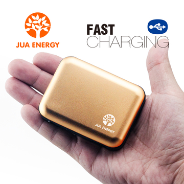 Jua Energy-Mini Power Bank-Power Mate-Mobile Power-Portable Charger-Battery- JPC102-5200mAh Gold