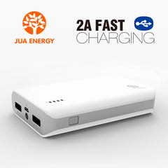 JPC201 6600mAh Power Bank Power Mate Mobile Power Portable Charger Battery White
