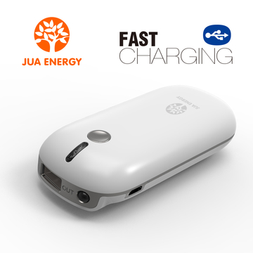 Jua Power Mate JPC101 4400mAh Mini Power Bank Power Mate Mobile Power Portable charger battery White