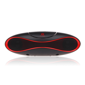 JMS-202-Bluetooth Speakers-Mobile music player-Outdoor Speakers-Sound Magic Series-Black & Orange