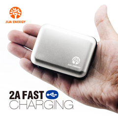 Jua Energy-Mini Power Bank-Power Mate-Mobile Power-Portable Charger-Battery- JPC102-5200mAhSilver