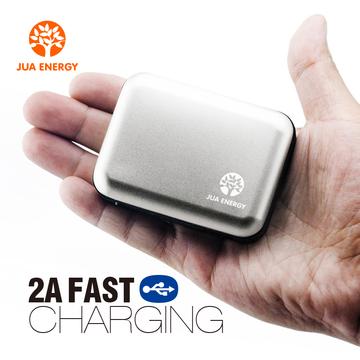 Jua Energy-Mini Power Bank-Power Mate-Mobile Power-Portable Charger-Battery- JPC102-5200mAhSilver