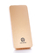 E1 -Super Slim Polymer Power Bank 5000mAh - Gold + Pocket Gift gold E1-G